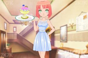 《动漫少女DIY冰淇淋》游戏画面2