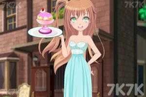 《动漫少女DIY冰淇淋》游戏画面3