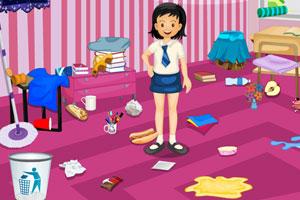 《琳娜整理房间》游戏画面1