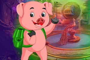 《救援迷你淘气猪》游戏画面1