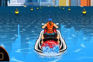 《极限水上摩托》游戏画面1