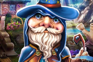 《进入魔法森林》游戏画面1