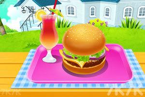《自制汉堡烹饪》游戏画面1