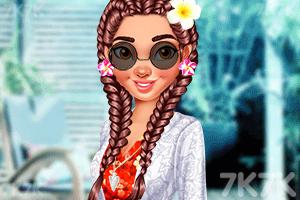 《热情女孩的装扮》游戏画面3
