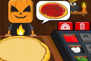《万圣节披萨店》游戏画面1