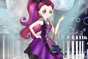 《小魔女参加模特大赛》游戏画面2