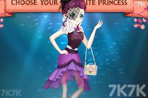 《小魔女参加模特大赛》游戏画面3