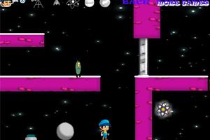 《蓝男孩历险记》游戏画面1