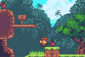 《狡猾的狐狸无敌版》游戏画面1