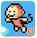像素猴跳躍挑戰