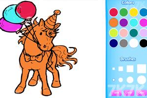 《小马图画册》游戏画面2