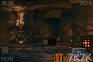 《山洞里寻宝藏》游戏画面1
