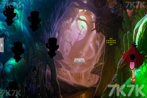 《蘑菇林蝴蝶女逃脱》游戏画面1