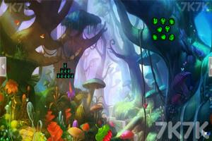 《蘑菇林蝴蝶女逃脱》游戏画面2