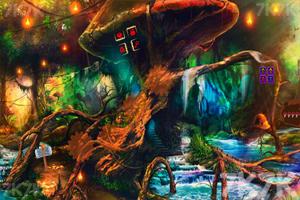 《蘑菇奇幻逃脱》游戏画面1