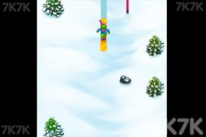 《滑雪小子的挑战》截图2