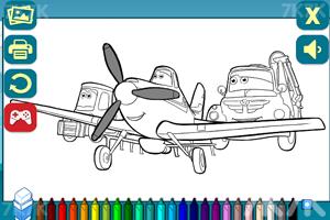 《小飞机图画册》游戏画面3