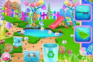 《打扫糖果公园》游戏画面2