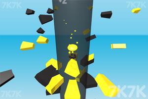 《3D坠落球》游戏画面3