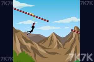 《高空绳索跳跃》游戏画面1