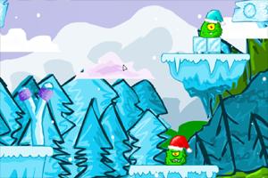 《愤怒的雪球》游戏画面1