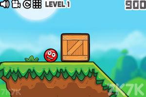 《小红球的大冒险》游戏画面1
