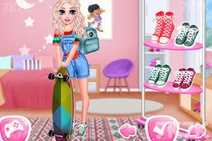 《玩滑板的女孩们》游戏画面2