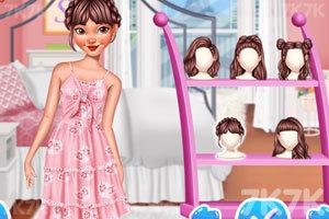 《公主们的时尚夏装》游戏画面1
