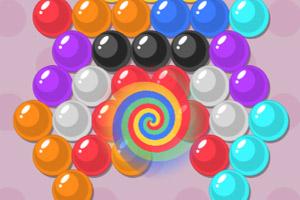 《彩虹泡泡龙》游戏画面1