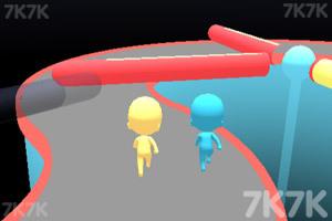 《趣味赛跑3D》游戏画面1