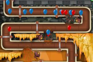 《小猴子守城4V1.18版》游戏画面1
