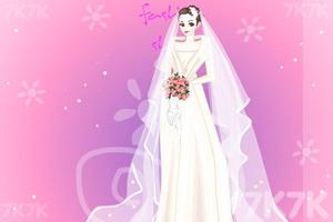 《美丽新娘换装》游戏画面1