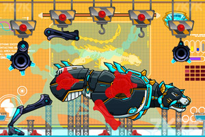 《机械豹大组装》游戏画面4