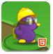 紫色鼹鼠莫利