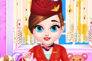 宝贝泰勒当空姐