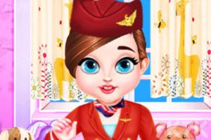 《宝贝泰勒当空姐》游戏画面1