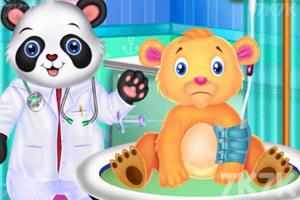 《找动物医生看病》游戏画面3