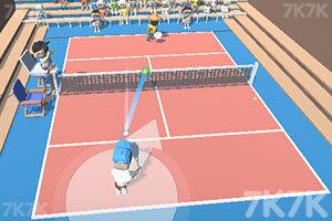 《职业网球比赛》游戏画面1