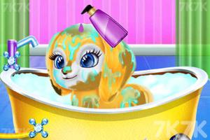 《宝贝的创意发型》游戏画面3