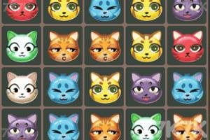 《貓貓消除戰》截圖1