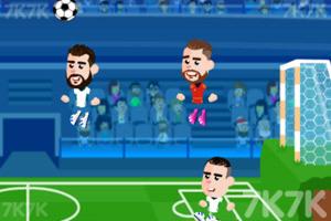 《足球大师赛》游戏画面2