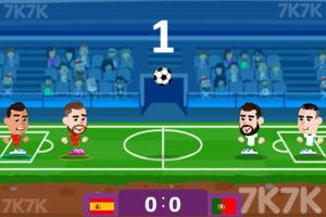 《足球大师赛》游戏画面1