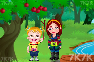 《可爱宝贝自然探险》游戏画面3