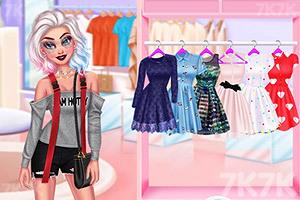 《时尚姐妹出街装》游戏画面4