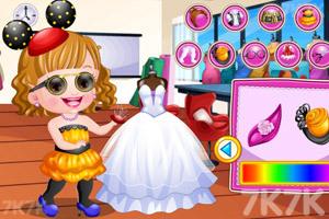 《可爱宝贝时尚跨界》游戏画面1