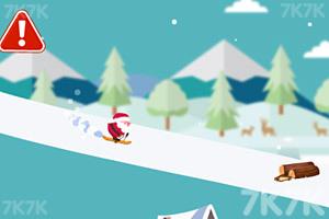 《圣诞老人躲雪崩》游戏画面3
