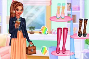 《我的时尚雨靴》截图1