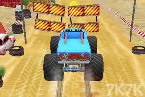 《怪物卡车大闯关》游戏画面2