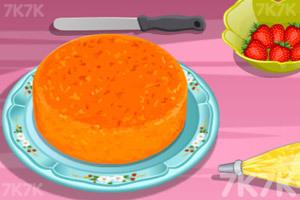 《制作香蕉蛋糕》游戏画面1
