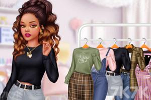 《甜系女孩穿搭》游戏画面3